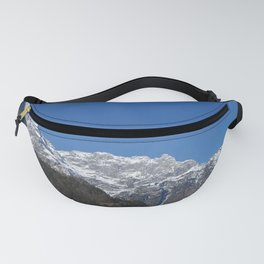 Home is where the mountain are. Fanny Pack