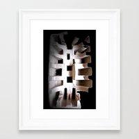skeleton Framed Art Prints featuring Skeleton by Artisimo (Keith Bond)
