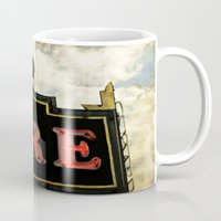 theatre Mugs featuring Old Theatre by Massimiliano Bertozzi