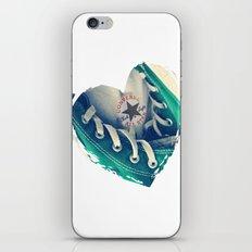 Converse Love in White iPhone & iPod Skin