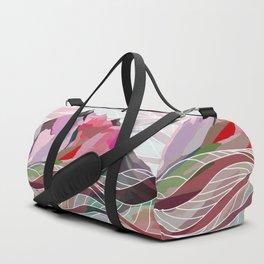 Ocean Sea Mountains Duffle Bag