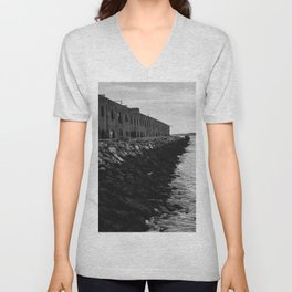 The Edge of Brooklyn Unisex V-Neck