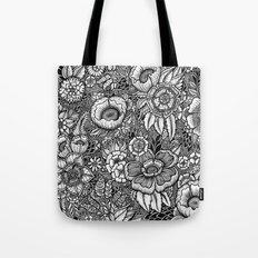 Botanical Floral Artwork Tote Bag