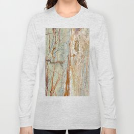 Colorful Textured Granite Long Sleeve T-shirt