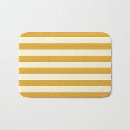 Yellow Stripes Bold Bath Mat