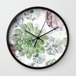 Original Succulent Print #society6 #decor #buyart Wall Clock