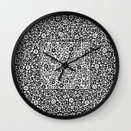 Black Chains Wall Clock