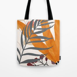 Colorful Red Leaves Tote Bag