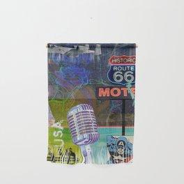 Modern Collage Three Wall Hanging