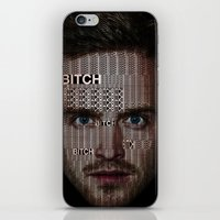 jesse pinkman iPhone & iPod Skins featuring Jesse Pinkman All-Type by Diego Farias