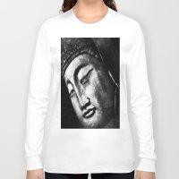 zen Long Sleeve T-shirts featuring zen by Joedunnz