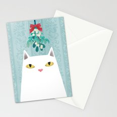 Mistletoe? Stationery Cards