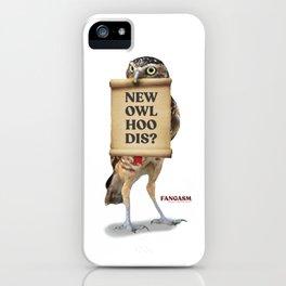 New Owl Hoo Dis iPhone Case