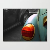 volkswagen Canvas Prints featuring Volkswagen by habish