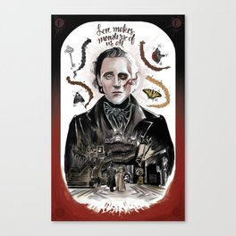 Love Makes Monsters of us All Canvas Print