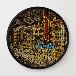Providence Performing Arts Center (PPAC) Broadway Theater, Providence, Rhode Island Wall Clock