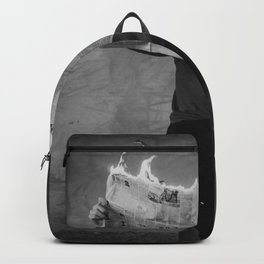 News on Fire (Baclk and White) Backpack