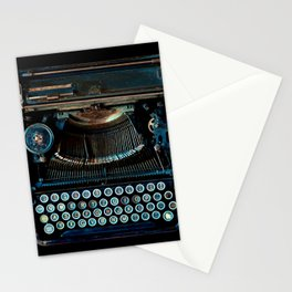 old vintage typewriter Stationery Cards