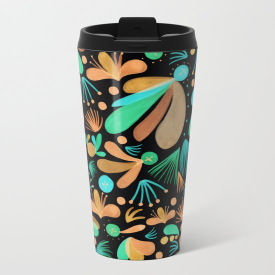Night Heritage Metal Travel Mug