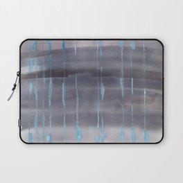 Grey Rain Laptop Sleeve