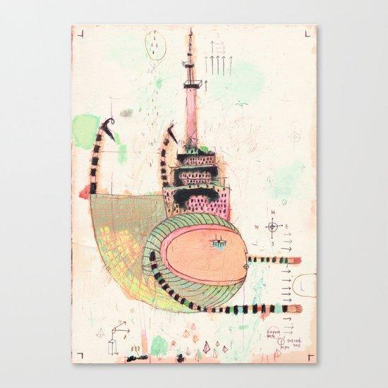 Fly Toronto Canvas Print