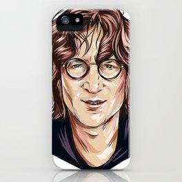 JohnLennon iPhone Case