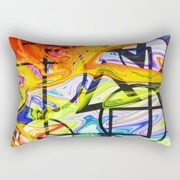 So Much On My Mind Rectangular Pillow