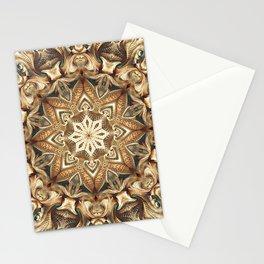 Flower Of Life Mandala (Mountain Range) Stationery Cards
