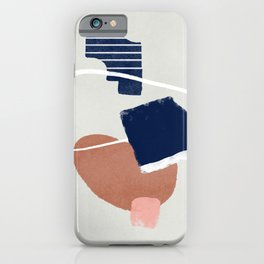 Abstract and geometrical artwork iPhone Case