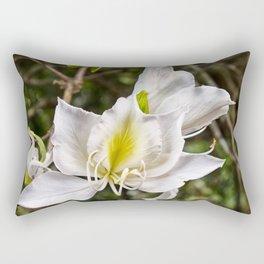 Beautiful butterfly tree bloom Rectangular Pillow