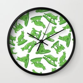 Toy Soldiers Wall Clock