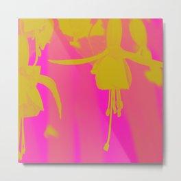 Neon Fuschias Metal Print