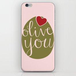 Olive You! iPhone Skin