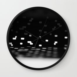 No Light Without Darkness Wall Clock