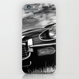 E-Type Jaguar Classic Motor Car iPhone Case