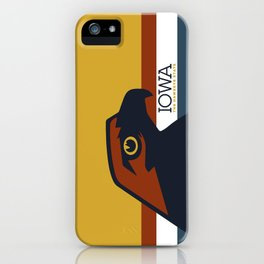 Iowa - Redesigning The States Series iPhone Case
