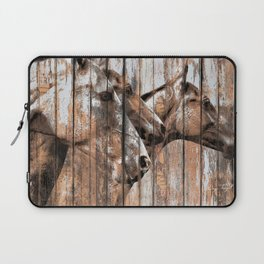 Run With the Horses Laptop Sleeve