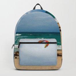 Kitesurfer, Jupiter Beach Backpack