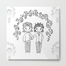 Royal Wedding Metal Print