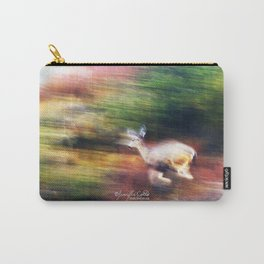 Rainbow Deer Carry-All Pouch