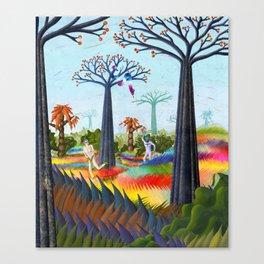 batmans paradise  Canvas Print