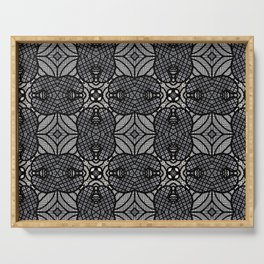 Doodle Pattern 17 Serving Tray