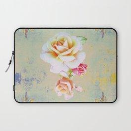 400 3 Vintage Roses Laptop Sleeve