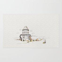 armenian church in ani Rug