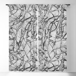 Black & White Jungle #society6 #decor #buyart Blackout Curtain
