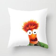 Beaker! Throw Pillow