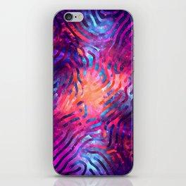 Artistic XCIV - Patterned Nebula iPhone Skin