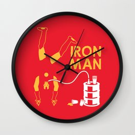 Keg Stand! Wall Clock