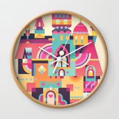 Structura 6 Wall Clock