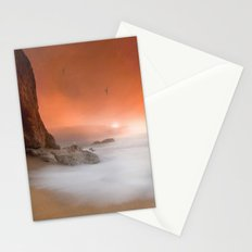 Peachy Morning Stationery Cards